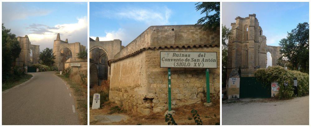 Ruinas del Convento de San Anton on the Camino