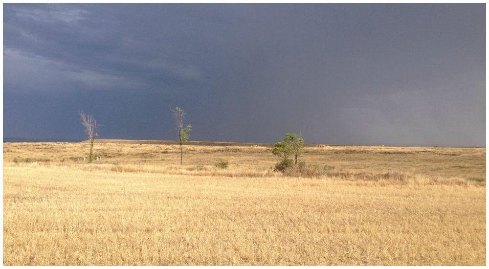 Storms around us on the way