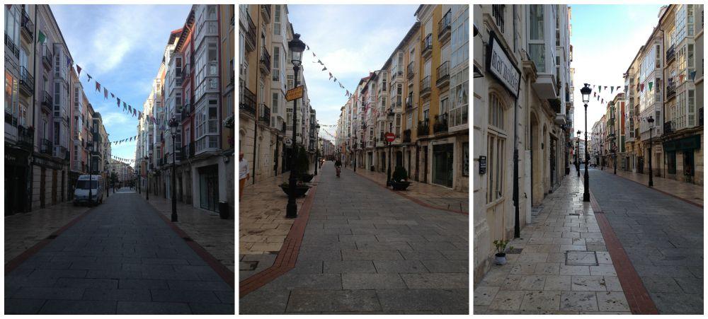 Streets in Burgos