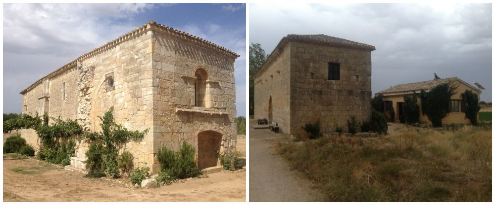 The Chapel in Itero on the Camino way