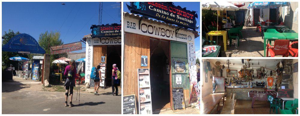 The Cowboy bar on the Camino near El Ganso