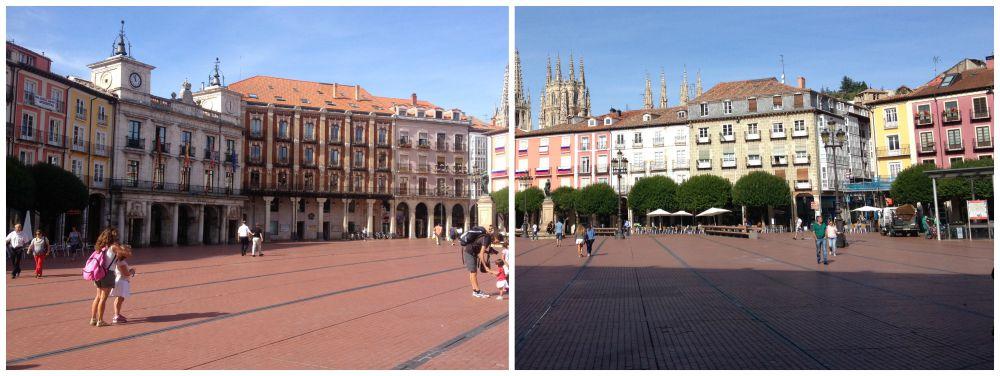 The main square in Burgos