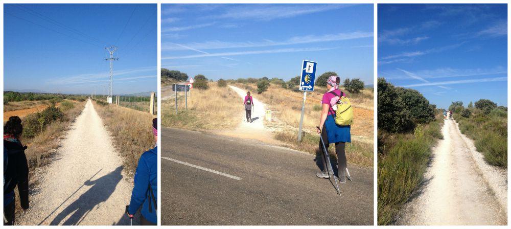 The way between Astorga and Rabanal del Camino