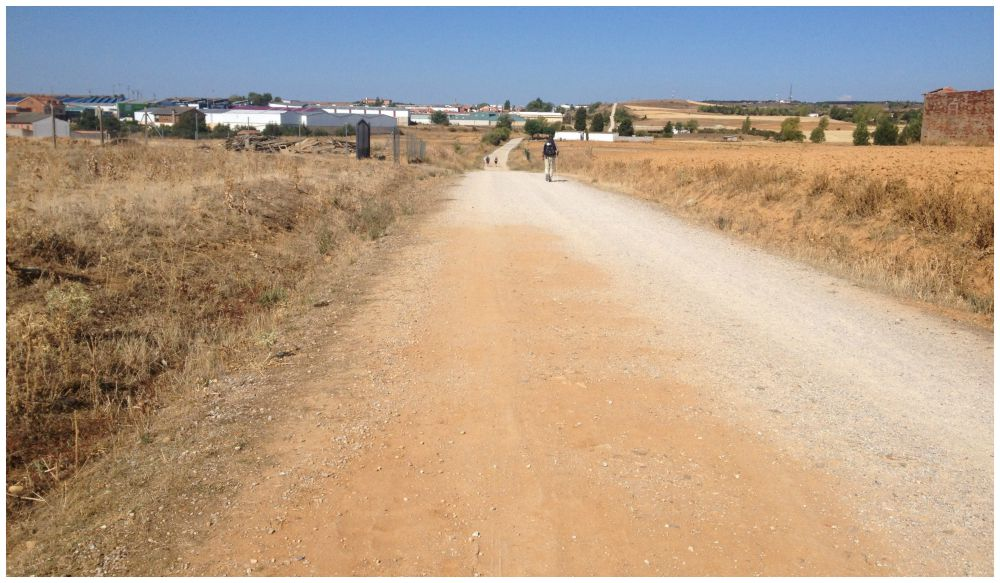 The way, between Villarente and Arcahueja