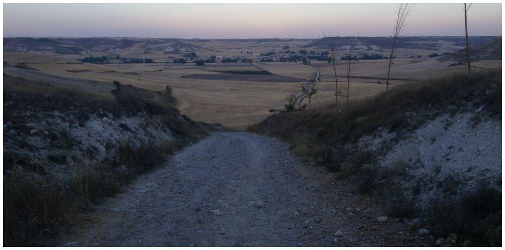 The way to Hornillos del Camino
