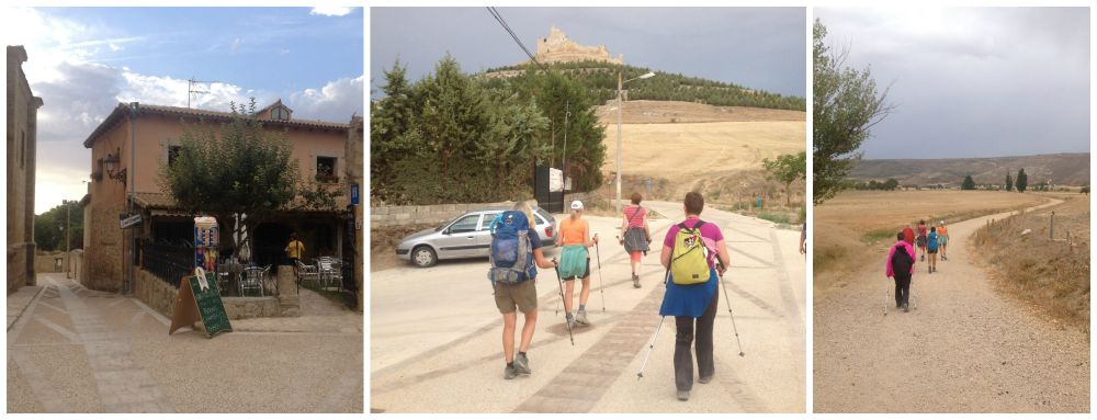 The way to Itero on the Camino