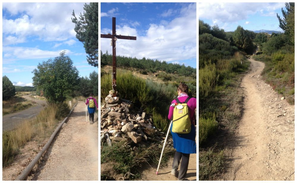 The way to Santiago near Manjarin