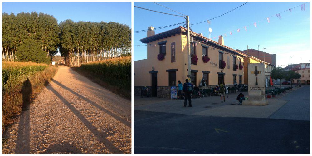 The way to Villares de Obrigo