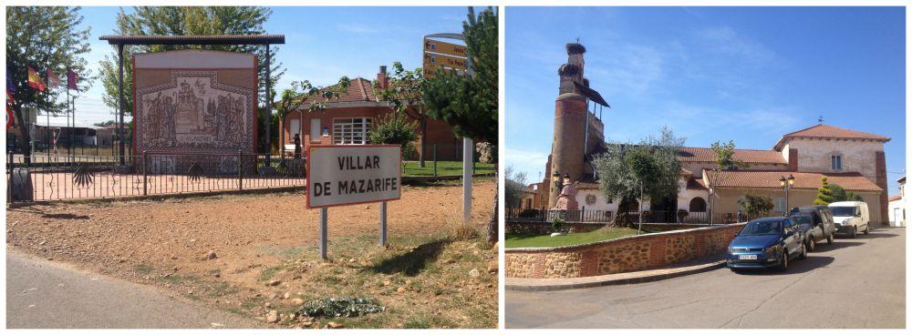 Villar de Mazarife on the Camino