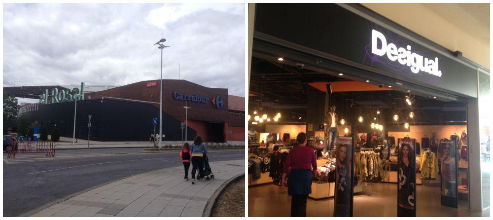 el Rosal shopping center in Ponferrada