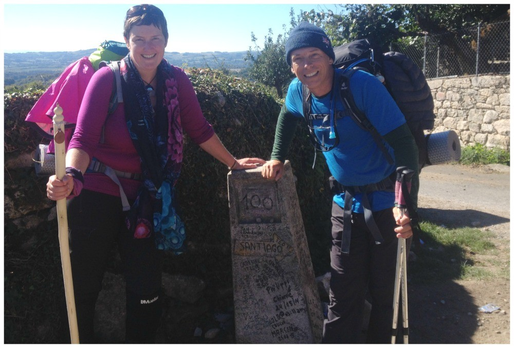 100 Kms to go on the Camino de Santiago