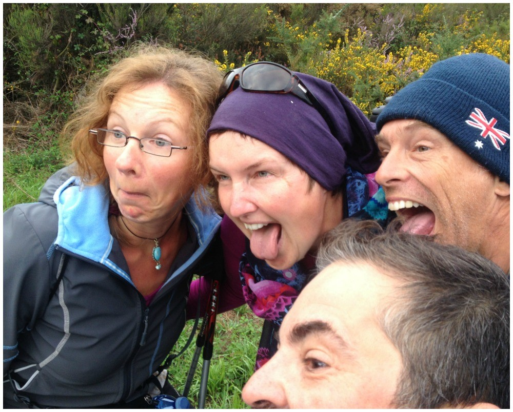 Funny times on the Camino