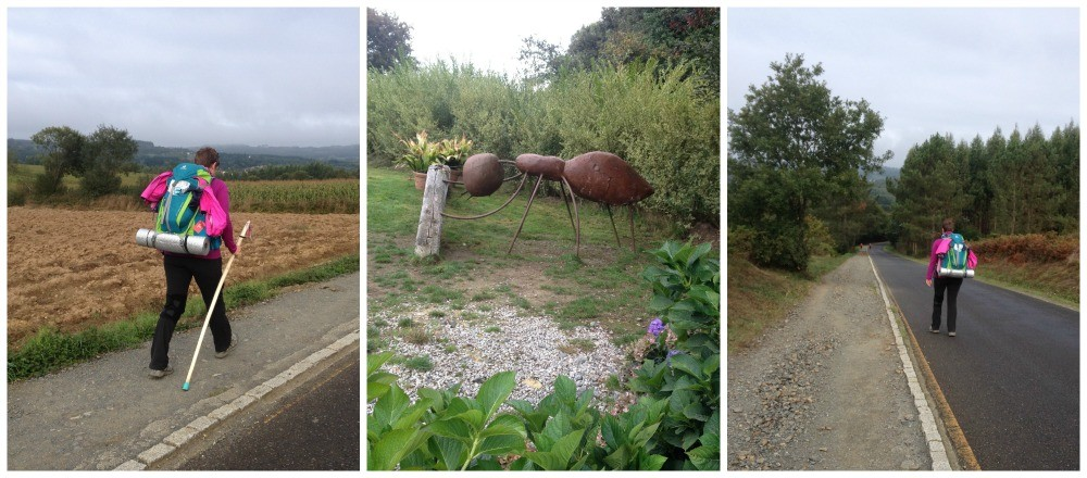 Giant ant statues on the way
