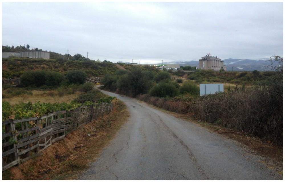 Leaving Ponferrada this morning