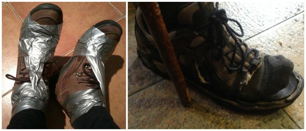Pilgrims shoes with a little TLC