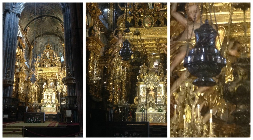 The Santiago de Compostela Botafumeiro