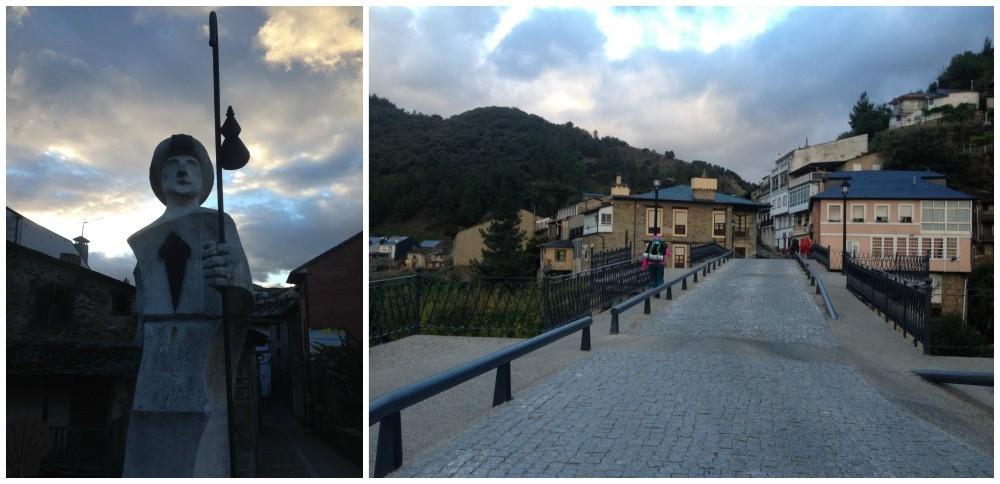 The bridge that leaves Villafranca del Bierzo