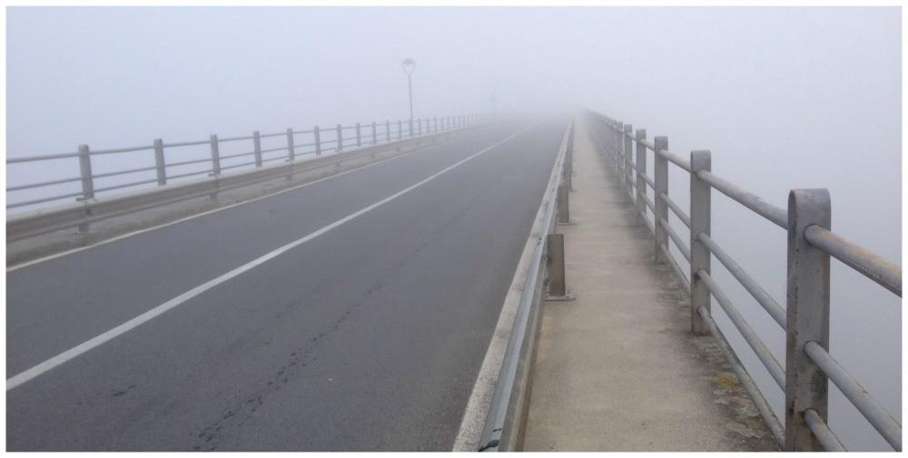 The bridge to Portomarin... or not