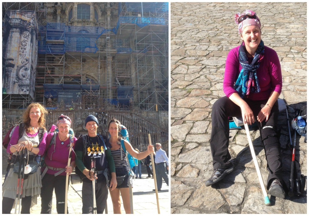 The end of a wonderful Camino