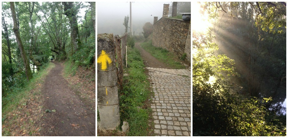 The way to Sarria was very picturesque