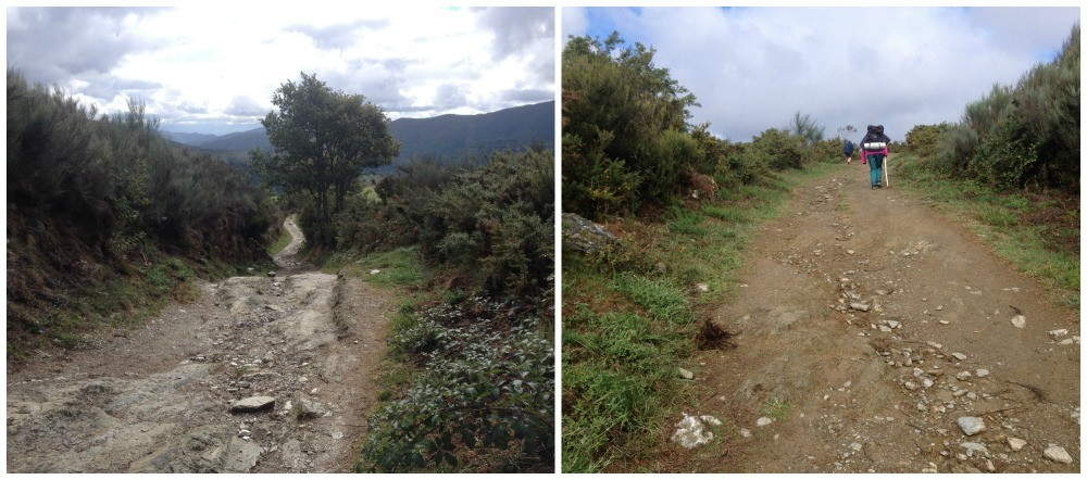 The way up from La Faba to O'cebreiro is pretty tough