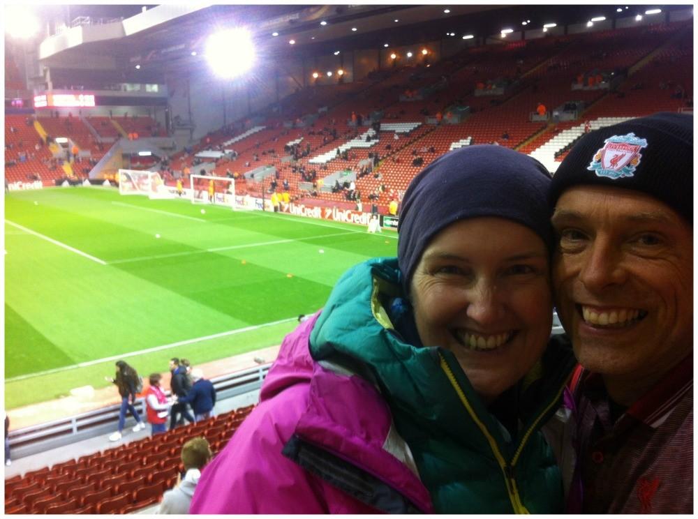 A dream come true, at LFC Anfield