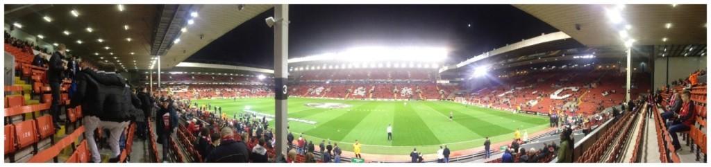 Anfield Stadium the home to LFC