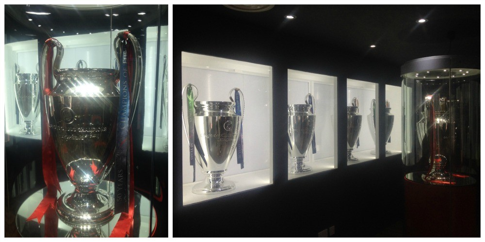 All five European Cups at Anfield