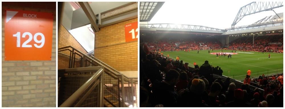 Block 129 at Anfield