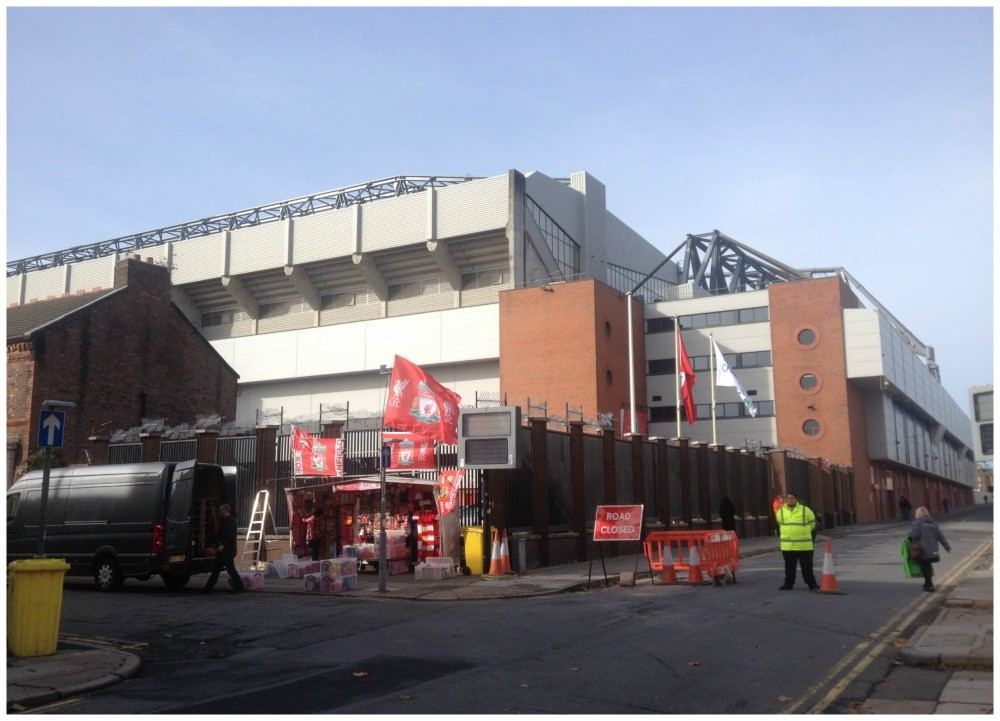 Centenary Stand and Anfield Road Stand