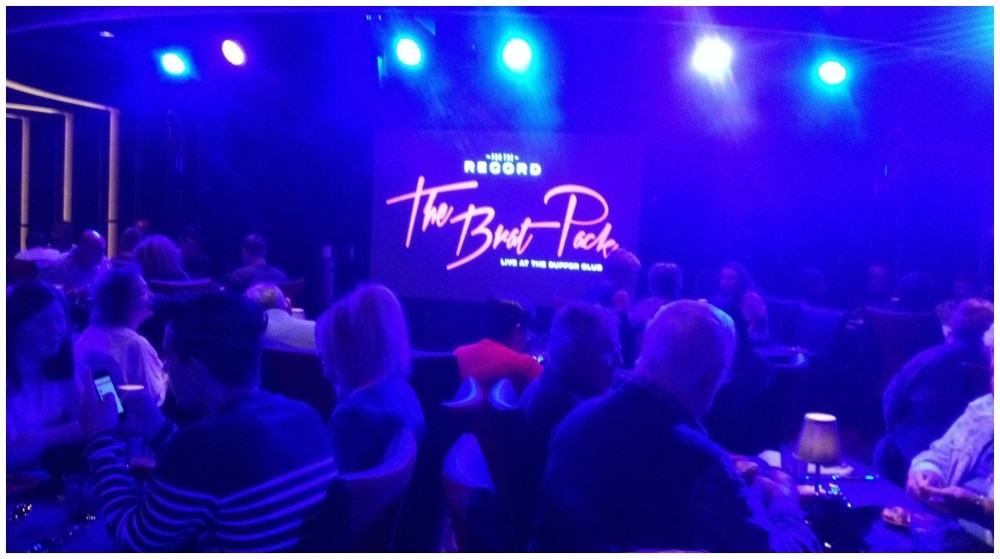 For the record - The Brat Pack live at the Supper Club on Norwegian Escape