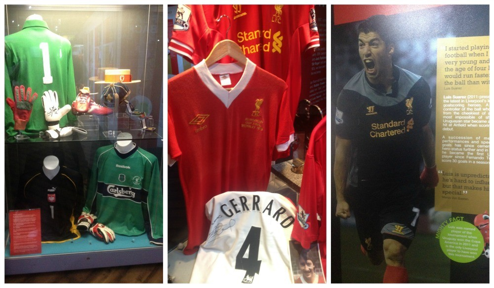 LFC Story on display at Anfield
