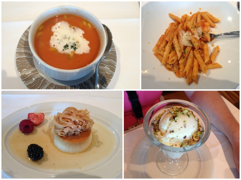 Lunch meals in Savor on Escape