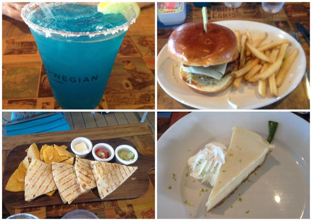 Meals at Margaritaville on NCL Escape