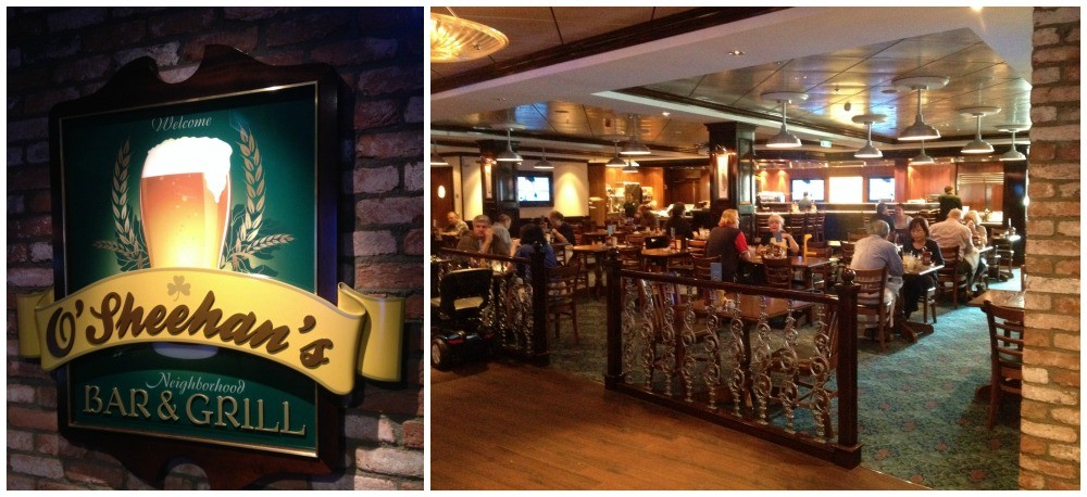 O'Sheehan's Bar & Grill on NCL Escape
