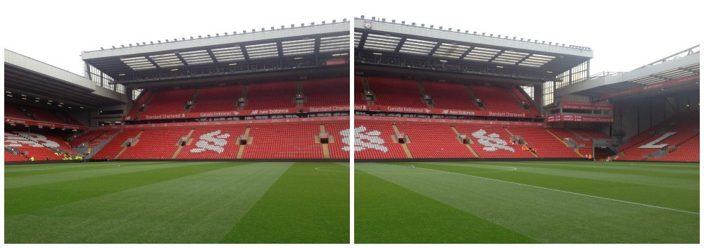 The Centenary Stand at Anfield