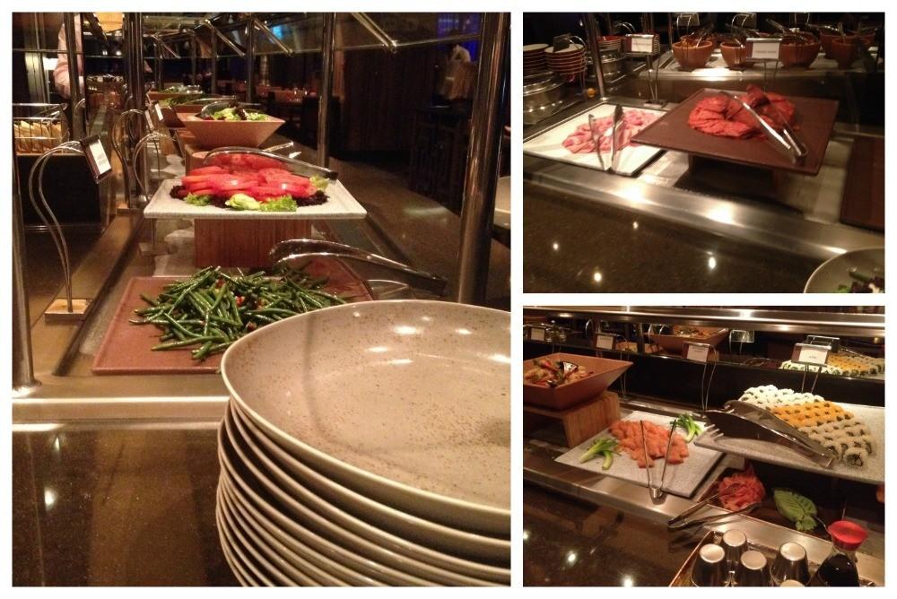 The Churrascaria buffet
