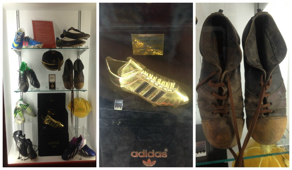 The football boot over the years