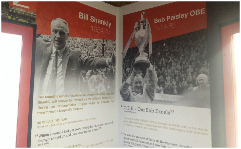 The golden years at LFC under Bill Shankly & Bob Paisley