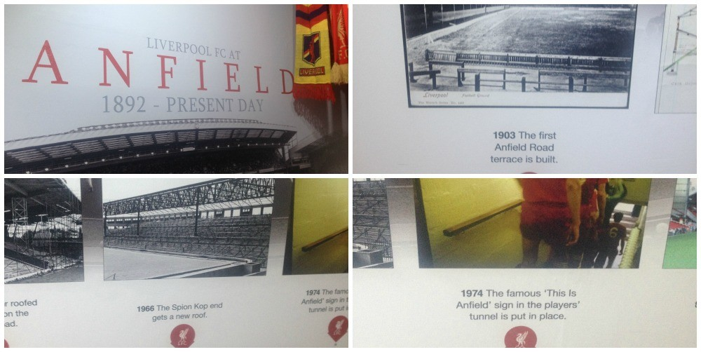 The history of Liverpool FC at Anfield 1892 to present day