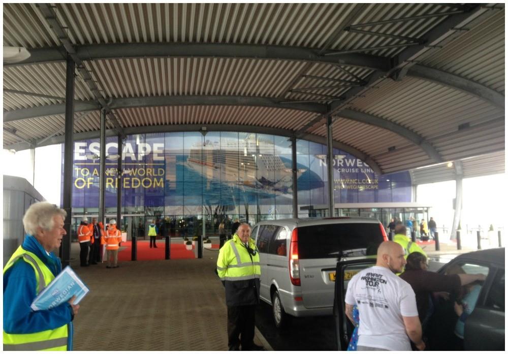Norwegian Escape cruise - Undercover at Southampton cruise terminal