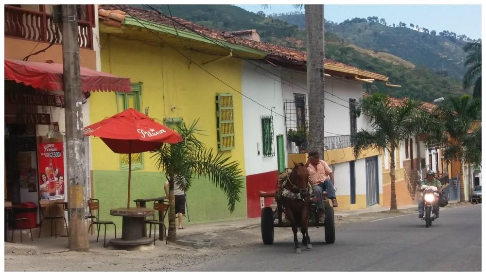 Ciudad Bolivar in Antioquia