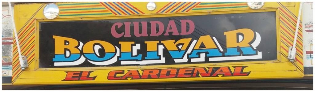 Ciudad Bolivar name