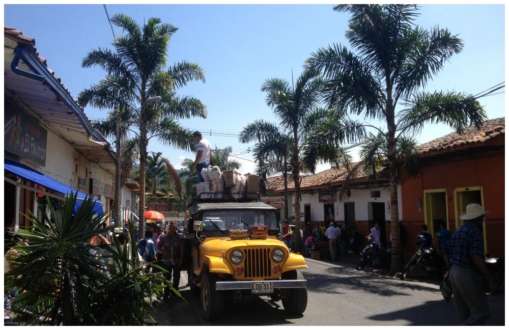 Colourful Ciudad Bolivar
