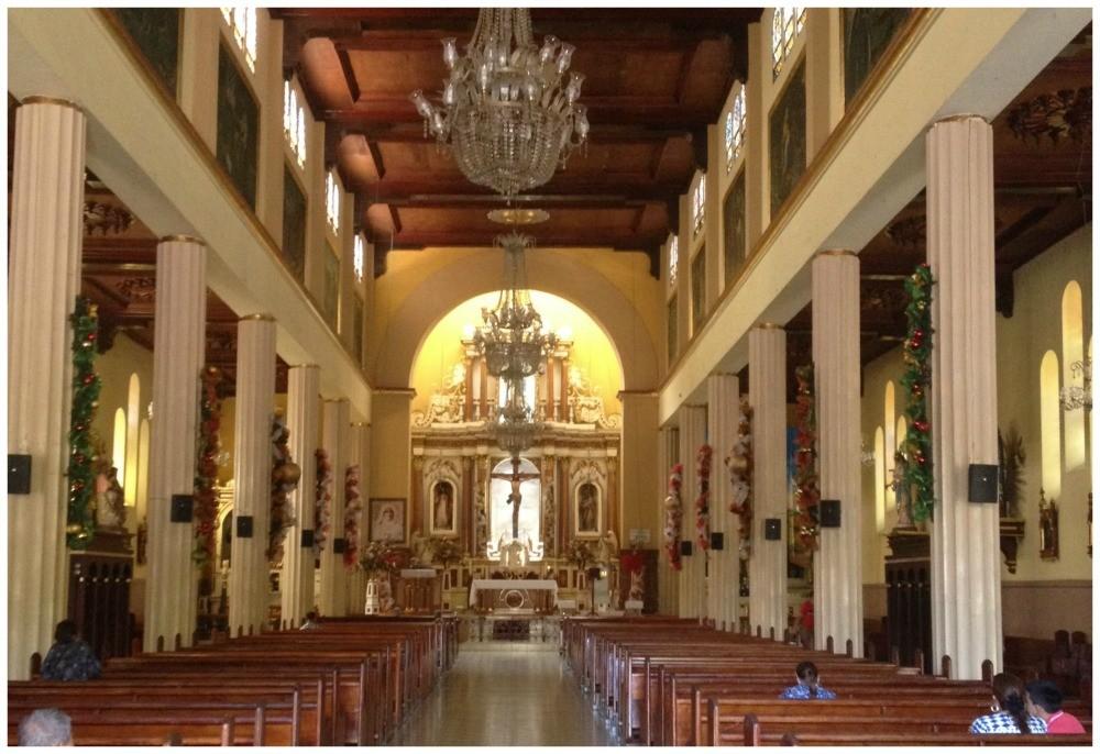 Inside the church of Ciudad Bolivar