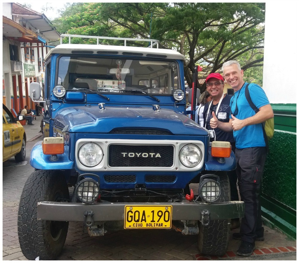 Memories of our old Toyota, the BJ40 lives on in Colombia