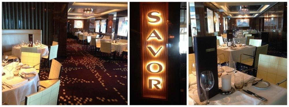 Savor restaurant on Norwegian Escape
