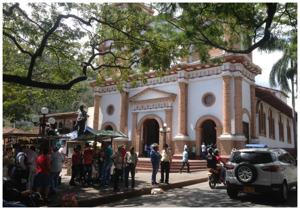 The church in Ciudad Bolivar