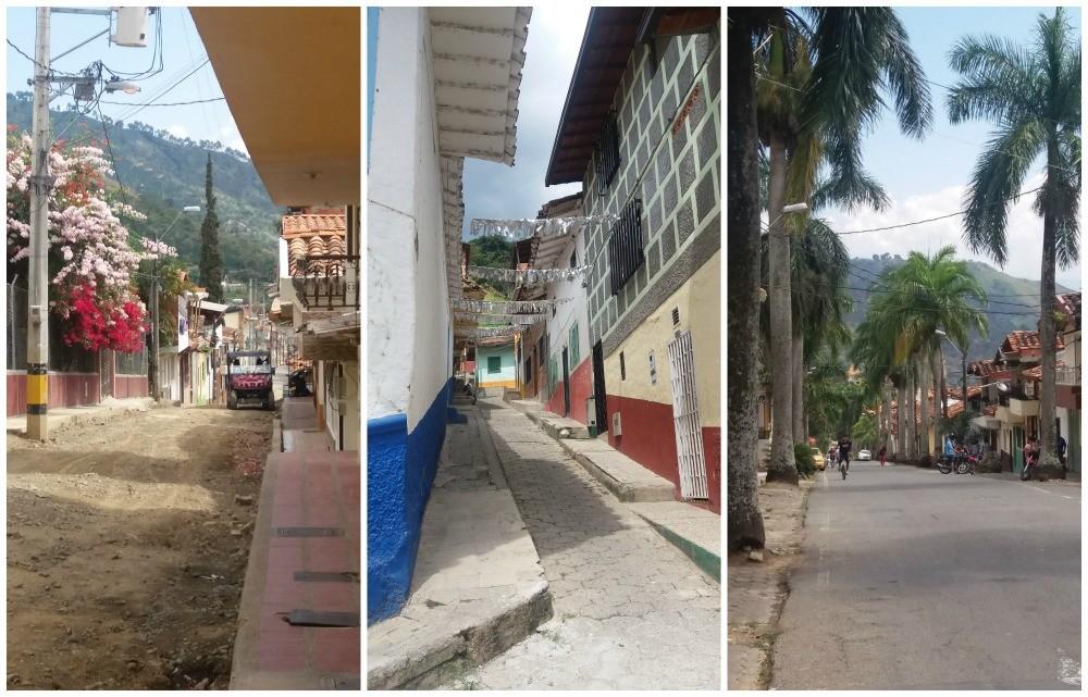 The streets of Ciudad Bolívar