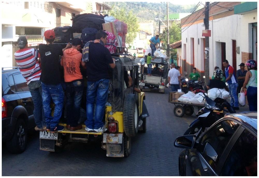 Transport service in Ciudad Bolivar